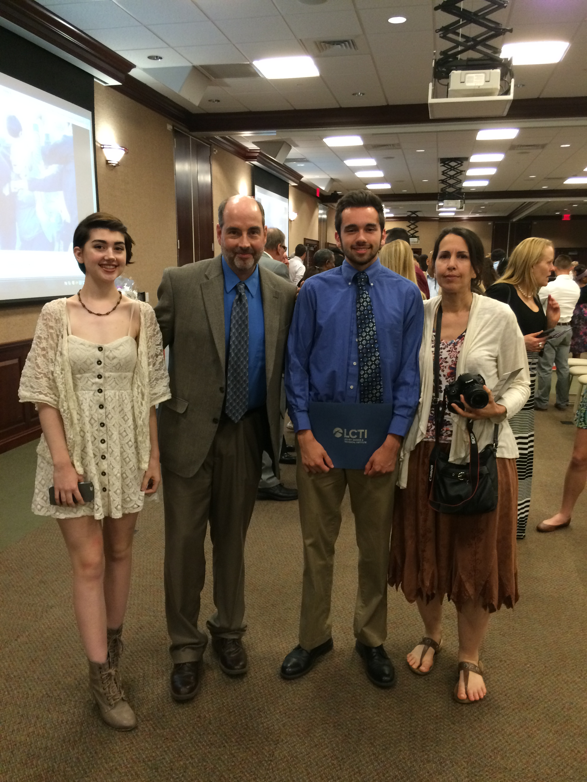 EHP graduation - Parker family